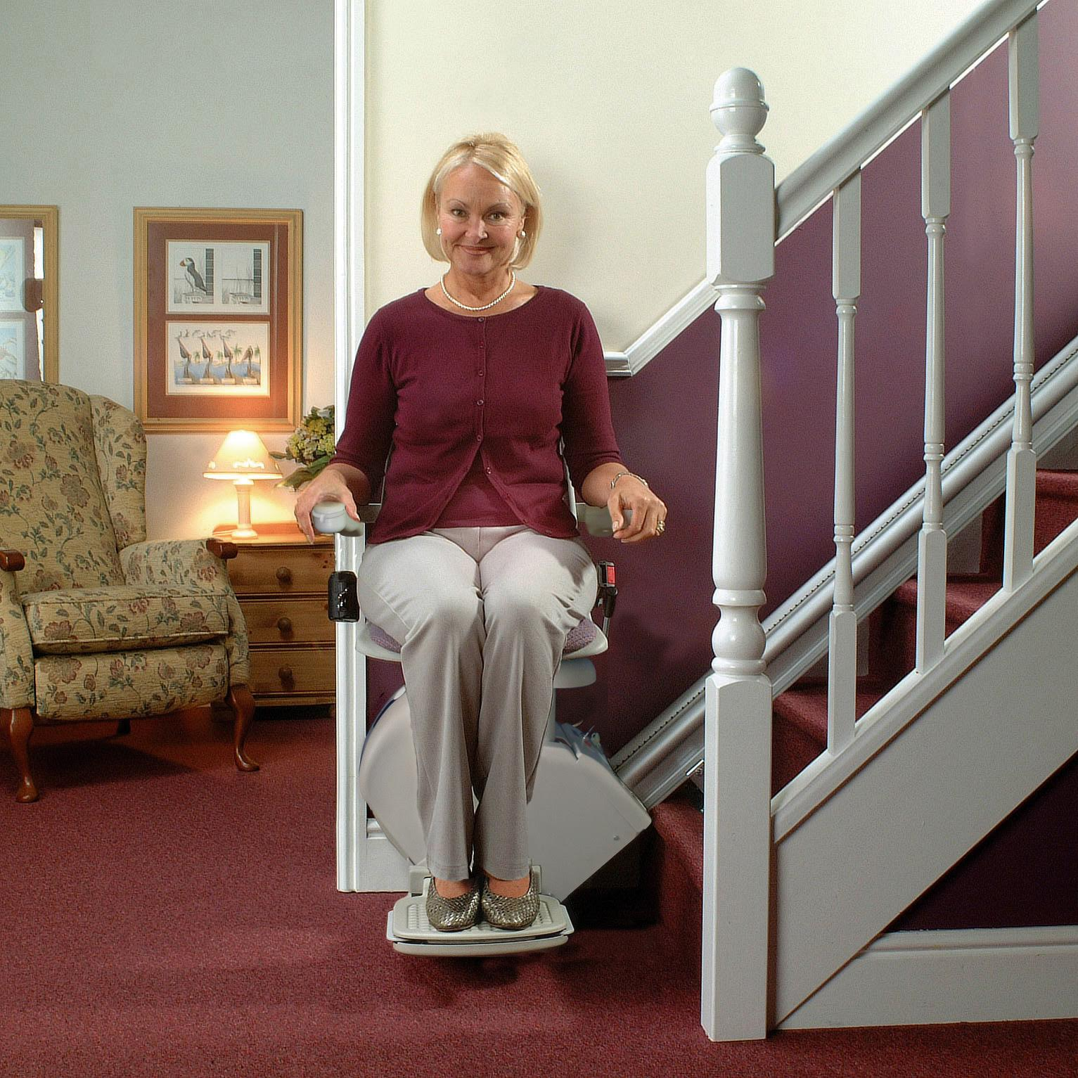 Burbank Stair Lift are home residential indoor stairway staircase glides