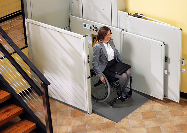 wheelchair elevator vertical platform vpl