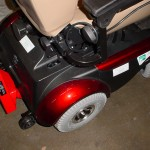 A Bracket Installed on A liberty 312 power chair.