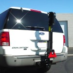 Classic Trilift Mobility LIft on A Ford Expedition.
