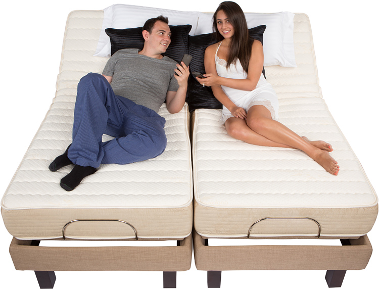Yelp electric adjustable bed power motorized frame foundation