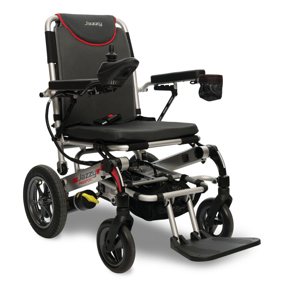 Electropedic Pride Jazzy Passport electric wheelchair powerchair