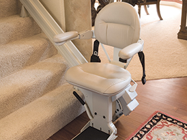 KRAUS BRUNO.COM Electropedic CHAIR STAIRWAY CURVED STAIRLIFT