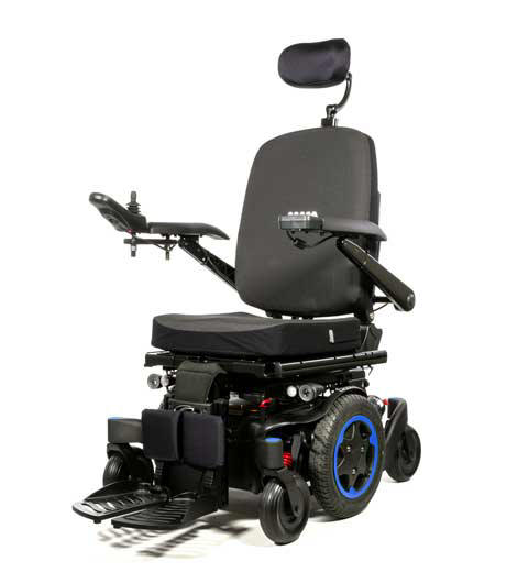 Q-500 Quickie Sunrise Medical City motorized rear wheel drive powerchair