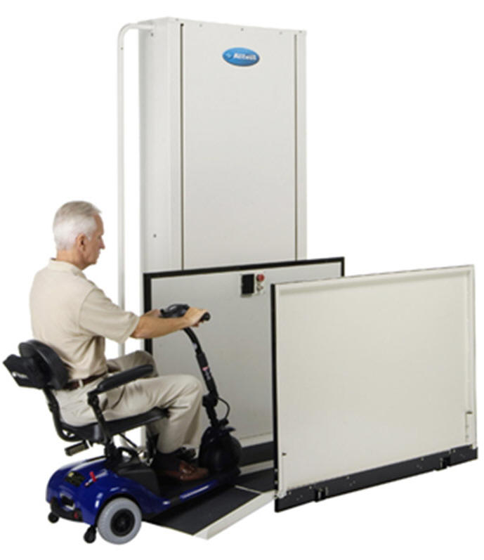 used affordable porchlift are inexpensive slightly used vpl vertical platform discount sale price cost wheelchair lift