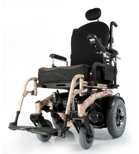 s-6 series quickie sunrise medical rear mid drive senior disabled wheelchair powered motorized electric powerchair