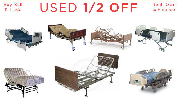 used electric hospital bed senior adjustable mattress