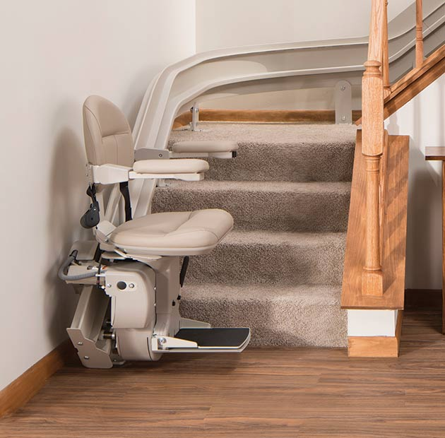 san francisco bruno cre2110 freecuve by handicare 2000  curved stairlift