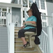 Burbank Bruno outdoor exterior outside stairlift