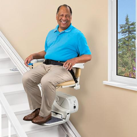 anaheim straight indoor home stairlift