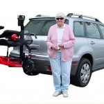 Trilift Customer with their Trilift mobility product
