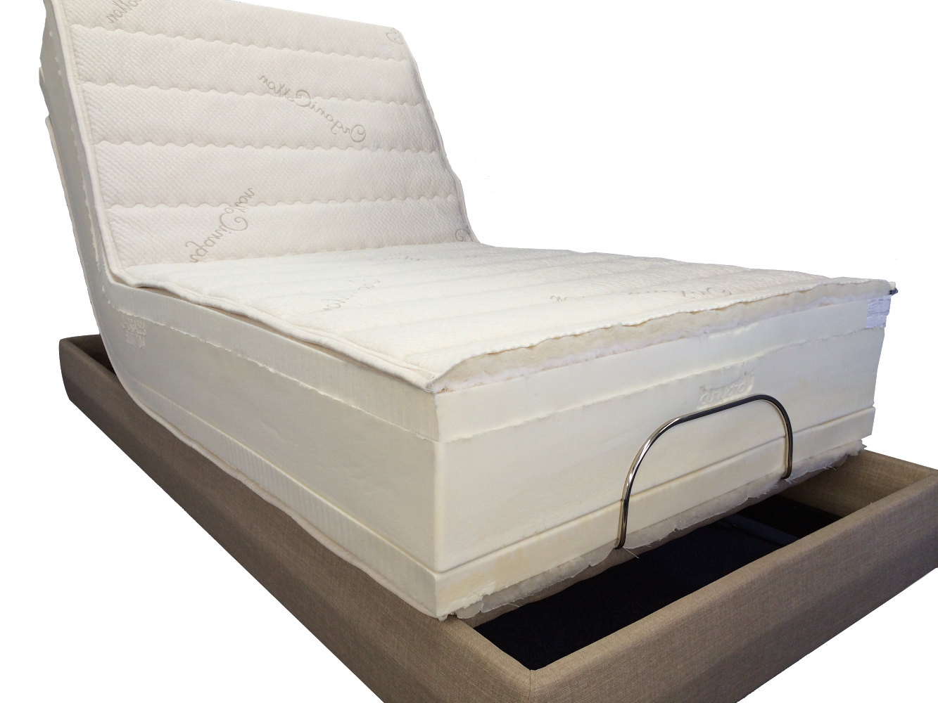 Twin Regular THE ULTIMATE anaheim Adjustable Bed Latex Mattress Twinsize